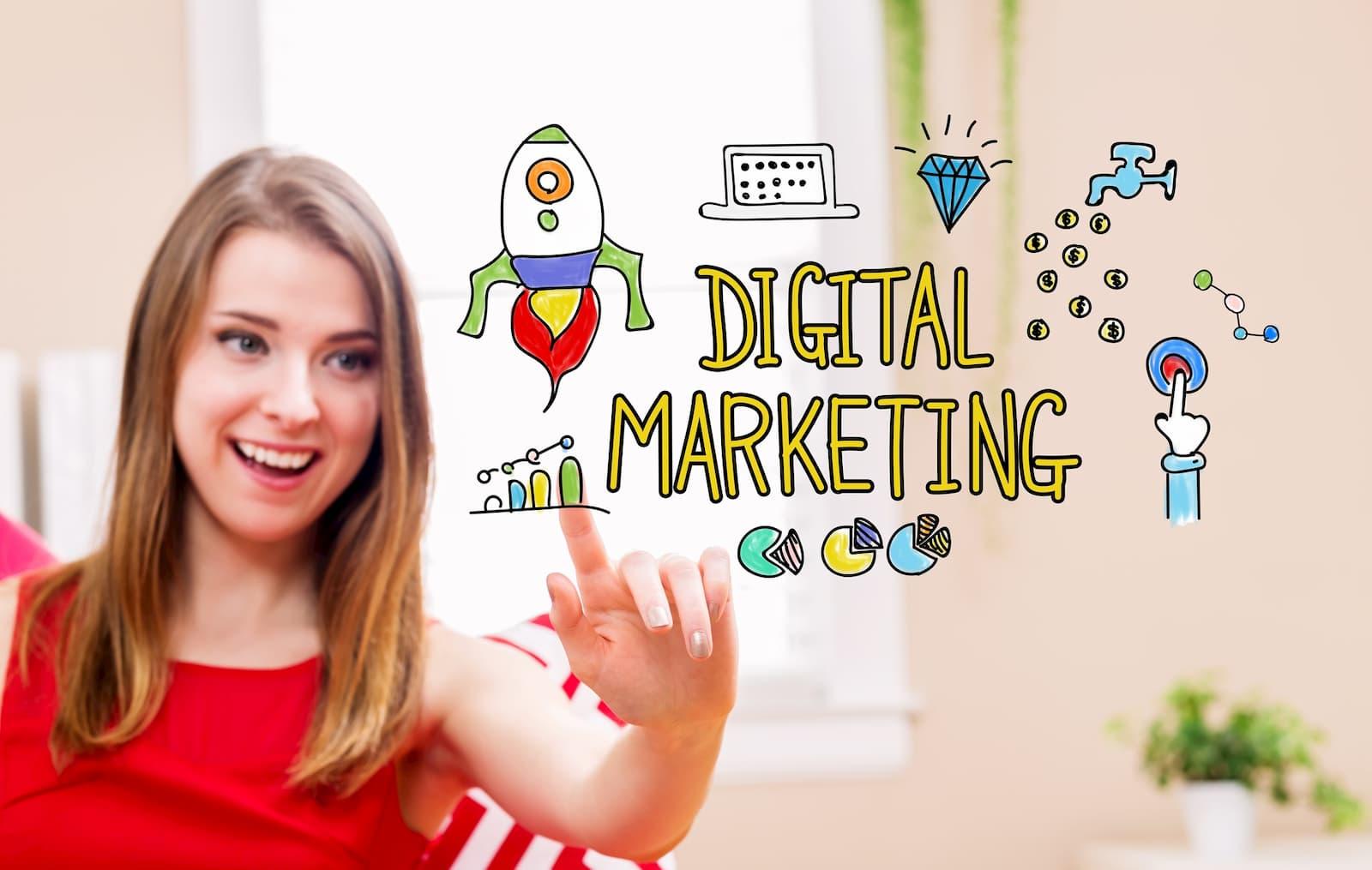 ¿Cúal es el proceso de marketing para la gestión de ventas?