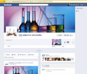 Administrar páginas de Facebook